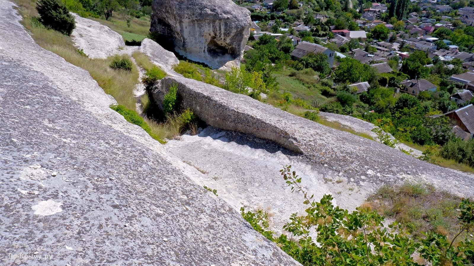 Древняя дорога на Сувлу-Кая