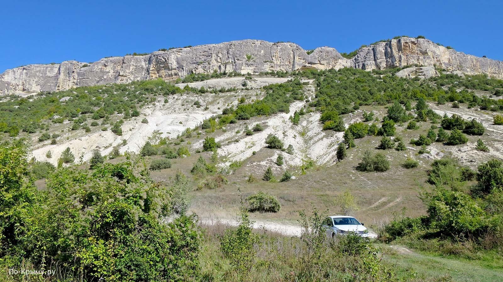 Ущелье Ашлама-Дере, возвышенность Беш-Кош