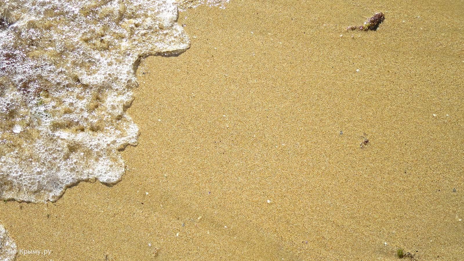 Пляж Астерас в Евпатории