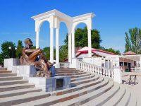 Скульптура Геракла в Евпатории