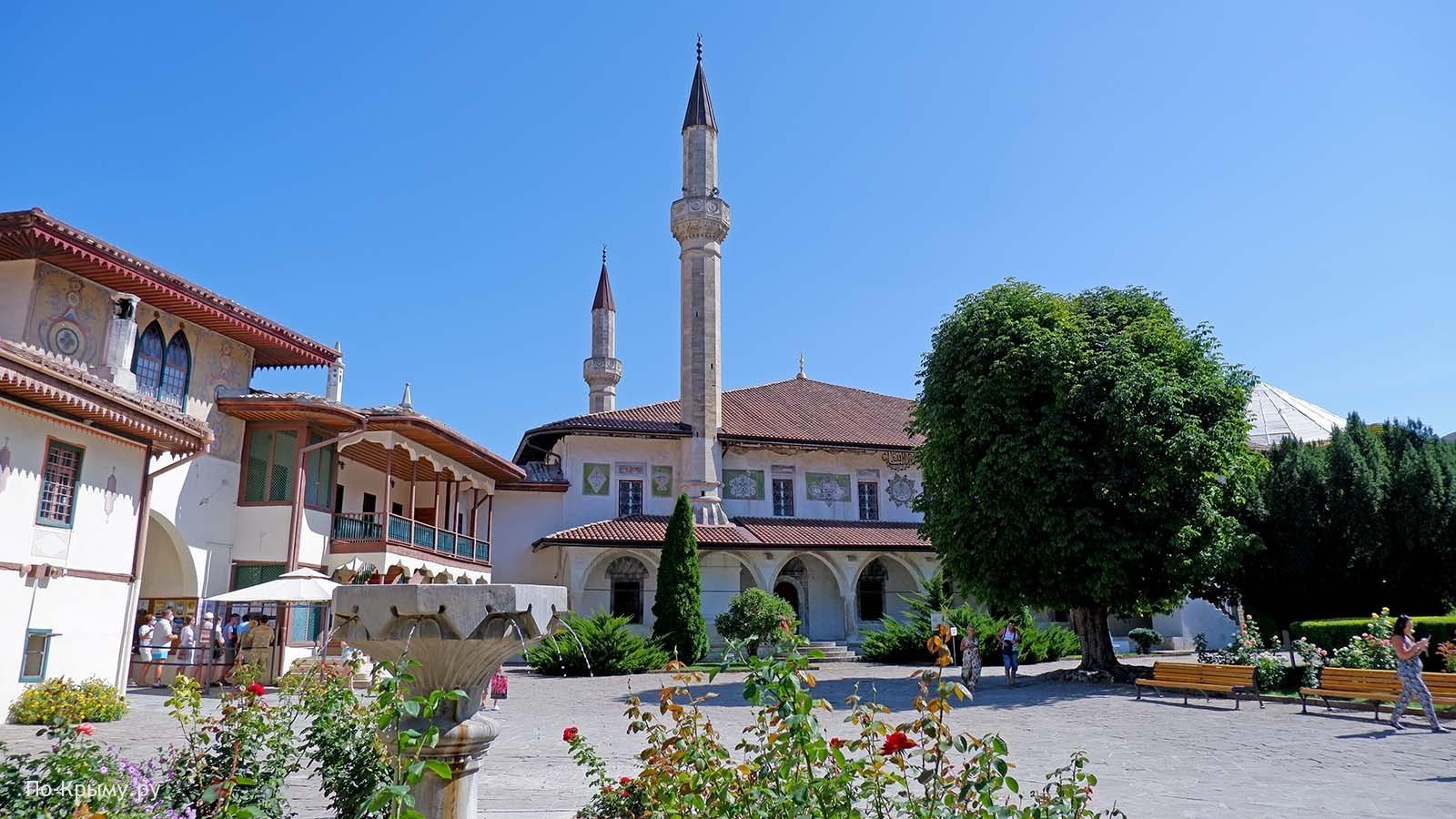Большая Ханская мечеть - Хан-Джами