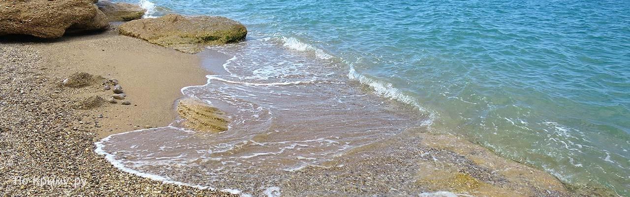 Пляж Романтик под Качей