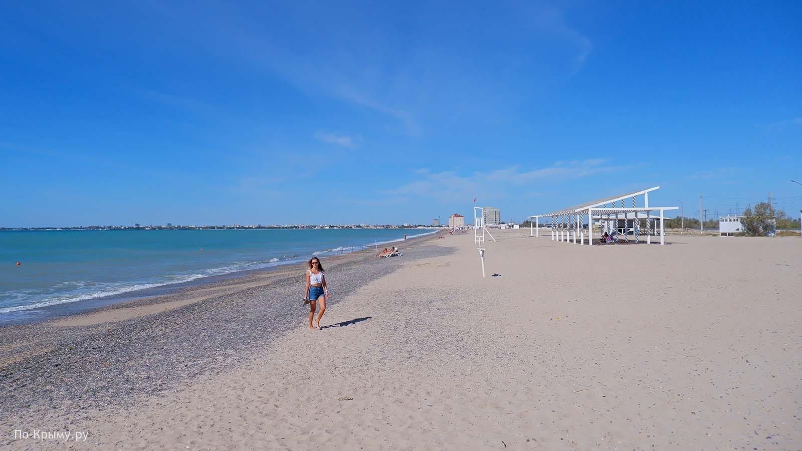 Как добираться на пляж глэмпинга Евпатория ЕВ-003А