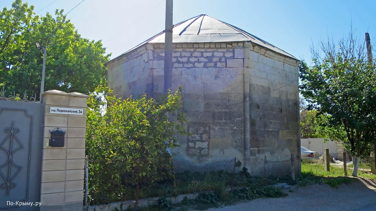 Эски-Юрт, дюрбе Мехмед-бея, Бахчисарай