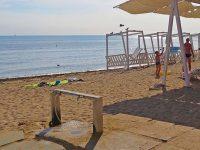 Ногомойка на пляже Евпатории