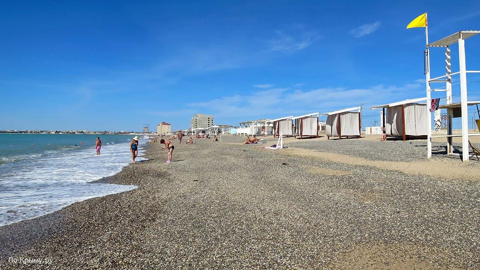 Пляж Легенда в Евпатории
