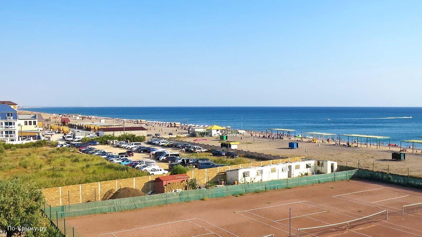 Пляж Виктория, Черное море, Крым