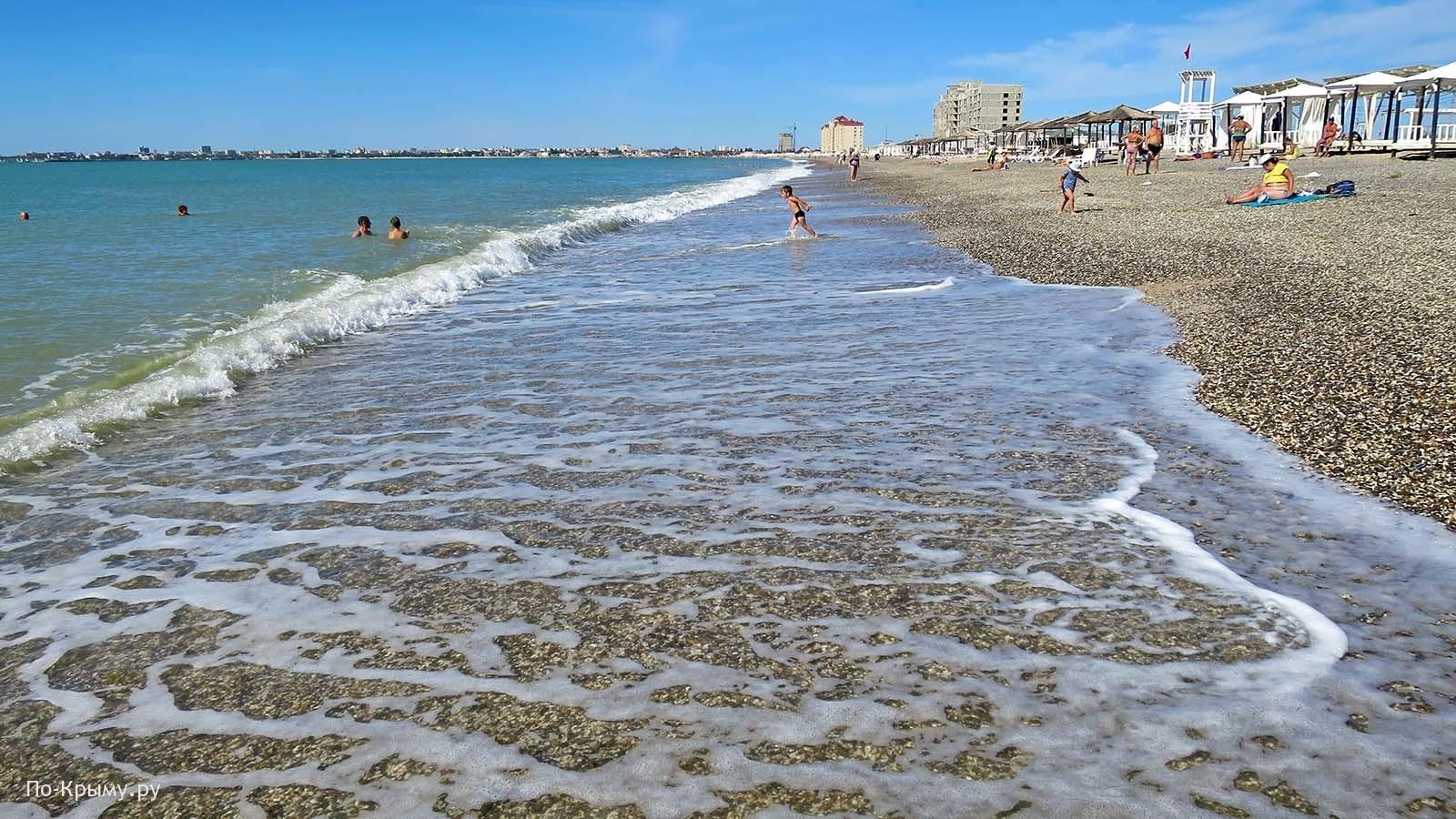 Пляж Первый в Евпатории