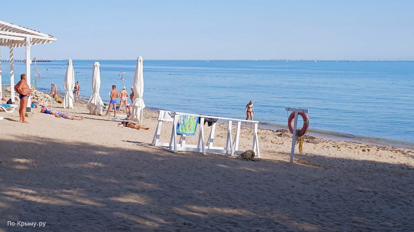 Пляж общего пользования ЕВ-026 в Евпатории