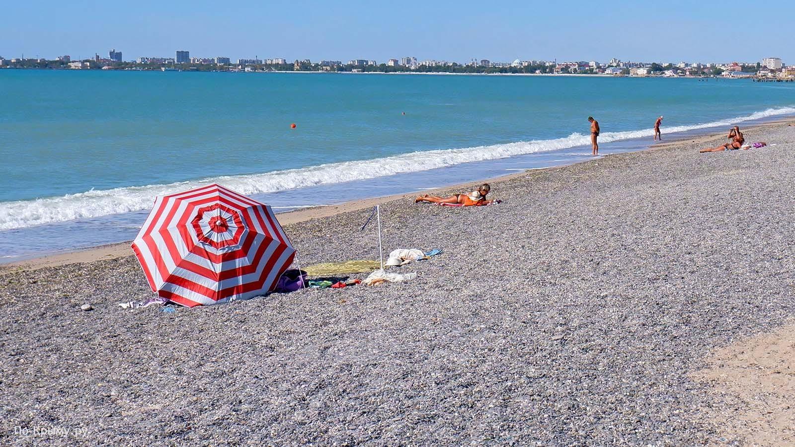 Пляж Солнечный рай, город-курорт Евпатория