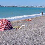 Пляж Солнечный рай в Евпатории