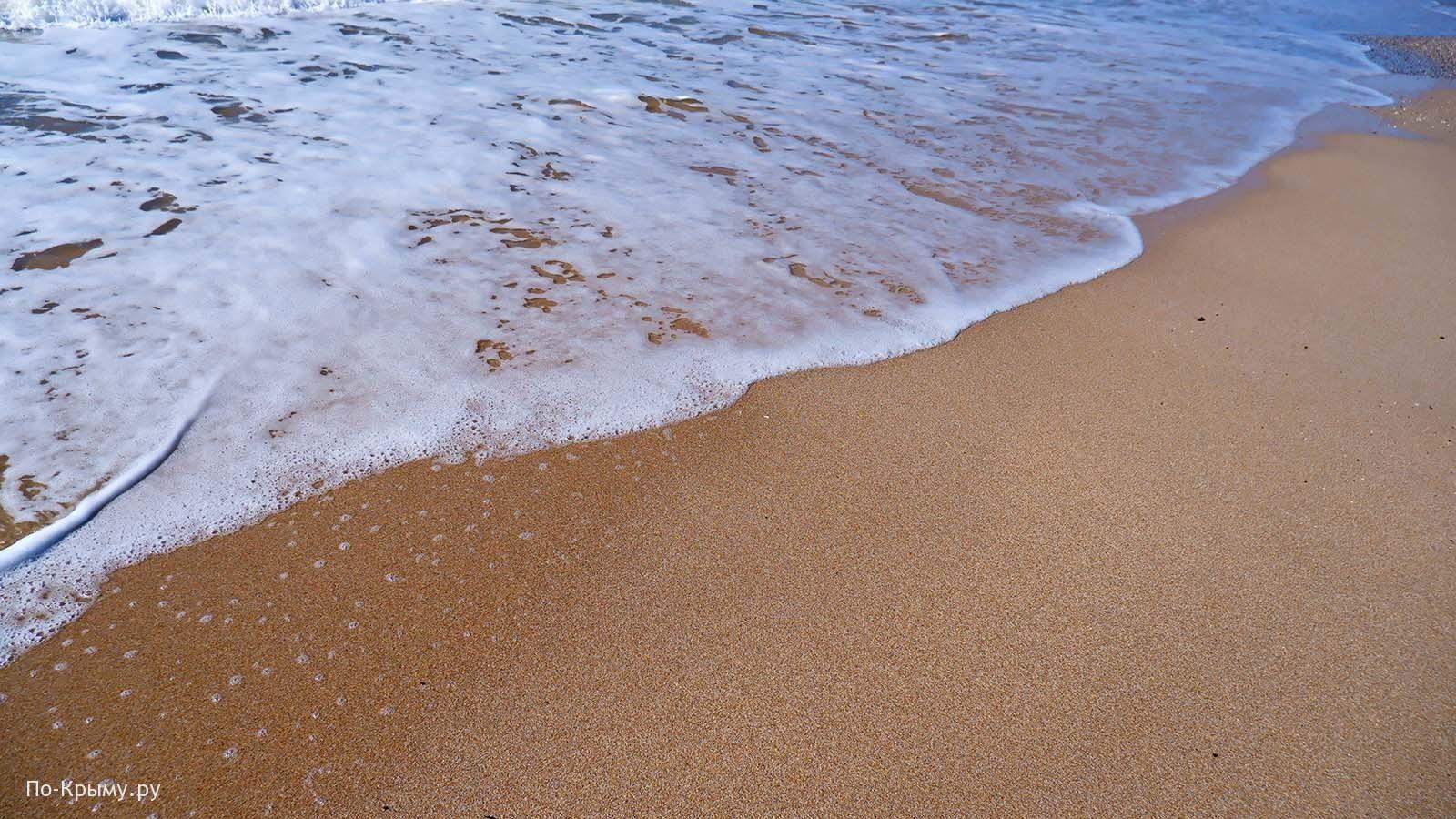 Крым, пляжи Евпатории