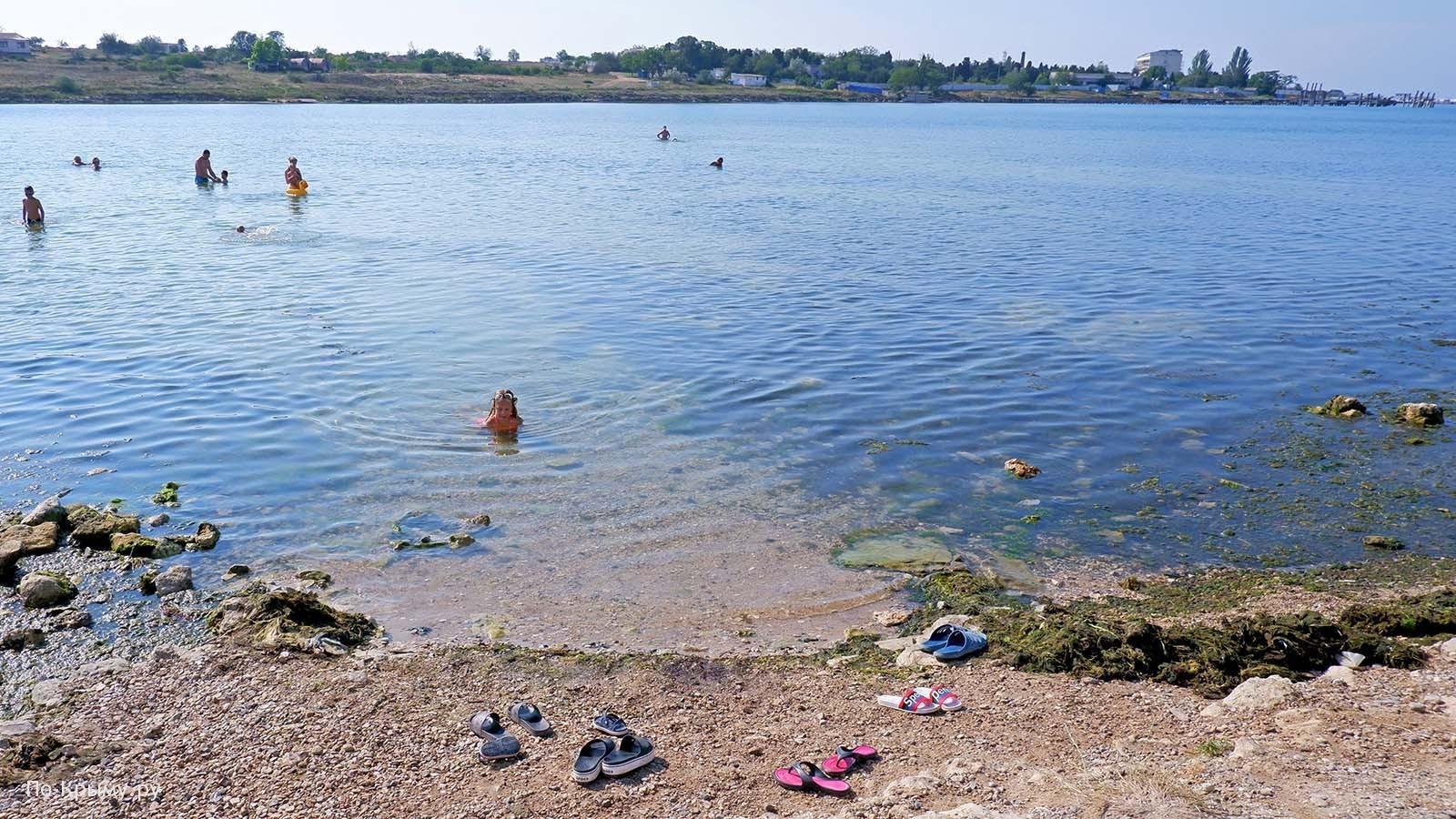 Пляж Соленой бухты, Казачка, Севастополь