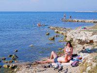Дикий пляж Севастополя
