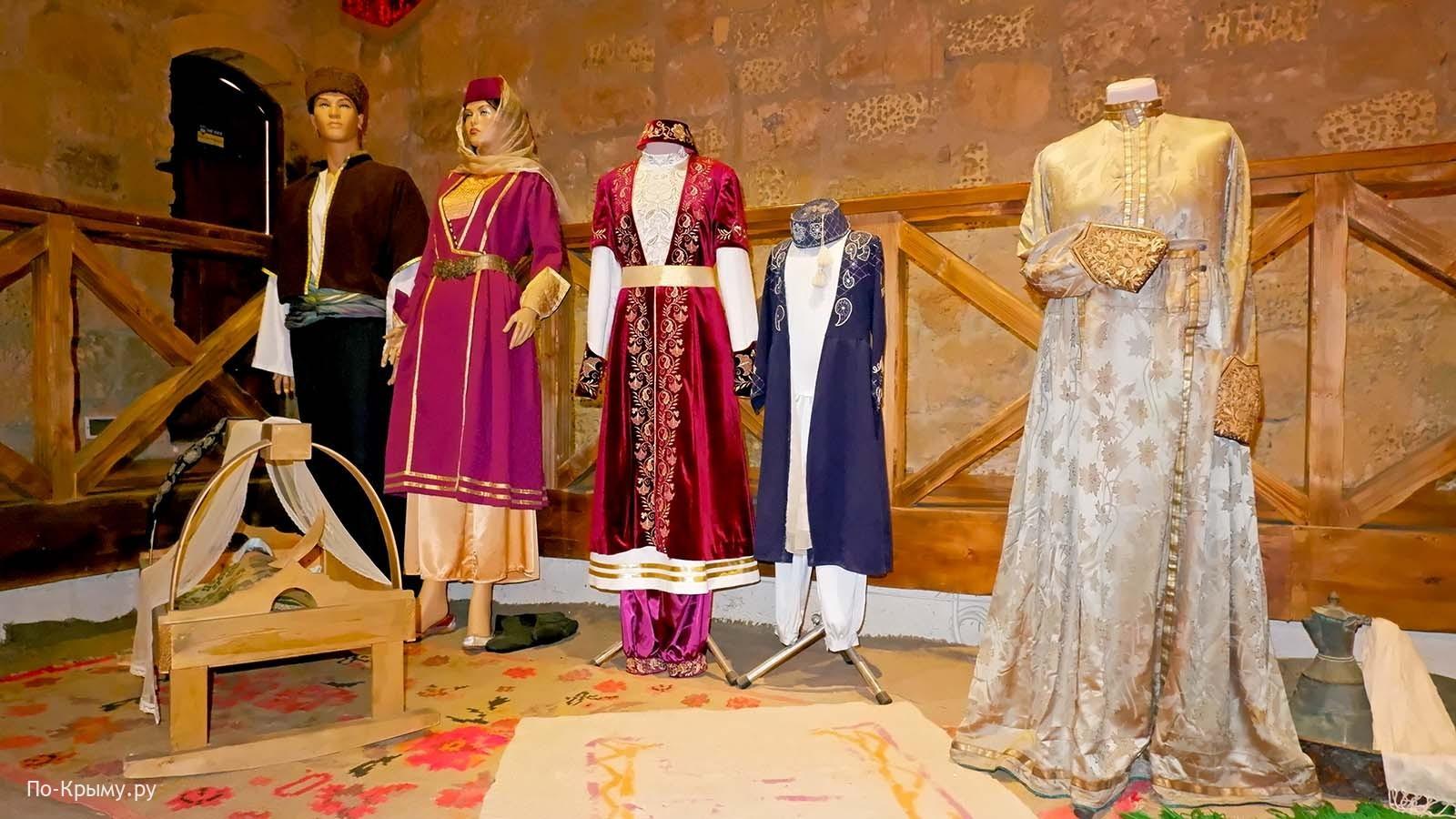 Национальные костюмы крымских татар