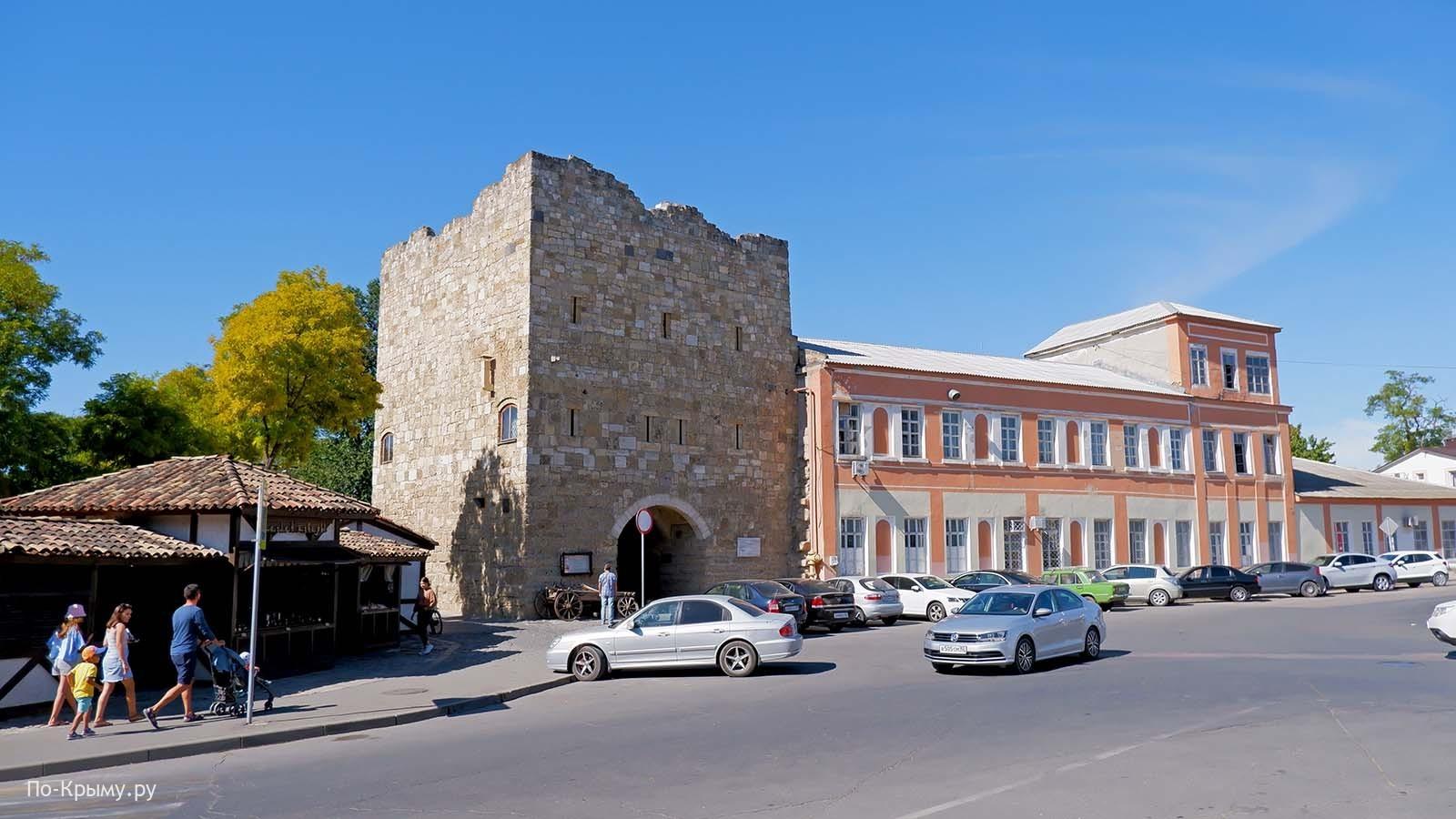 Гезлевские ворота - Одун-базар къапусы