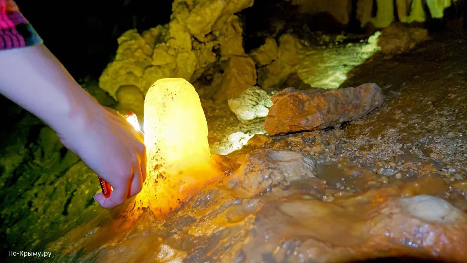 Экскурсия по Мраморной пещере