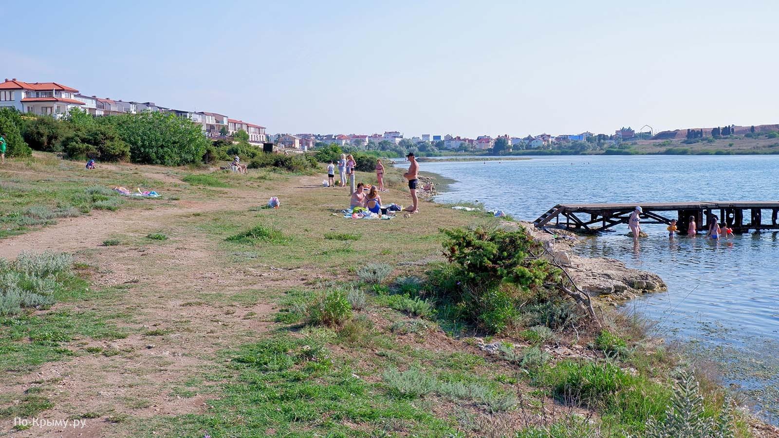 Соленая бухта в Севастополе