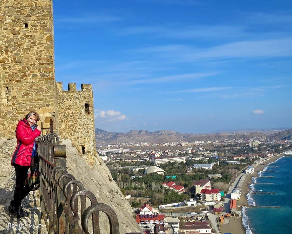 Лучшие места для селфи в Крыму, Судак