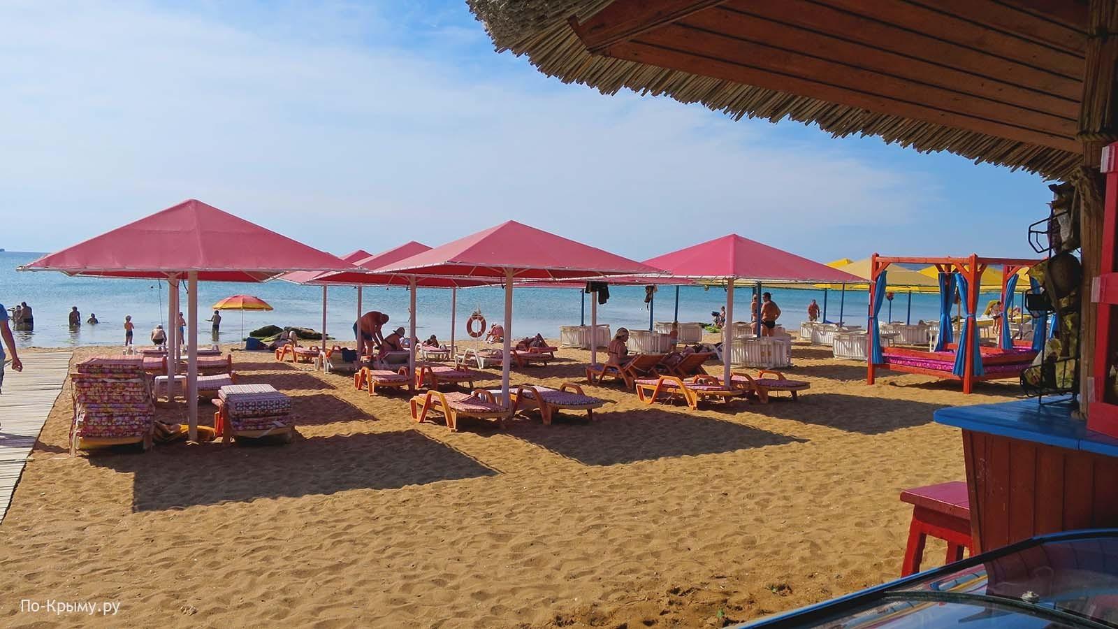 Пляж 117 в Феодосии