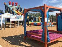 Песчано-ракушечный пляж 117