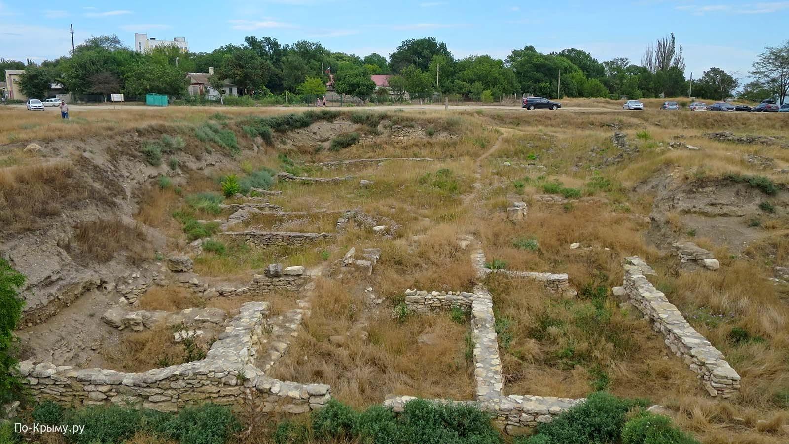 Античное городище Мирмекий, Керчь, Крым