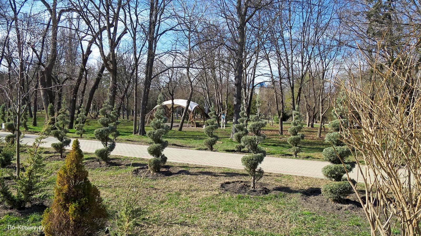 Парк имени Гагарина в Симферополе