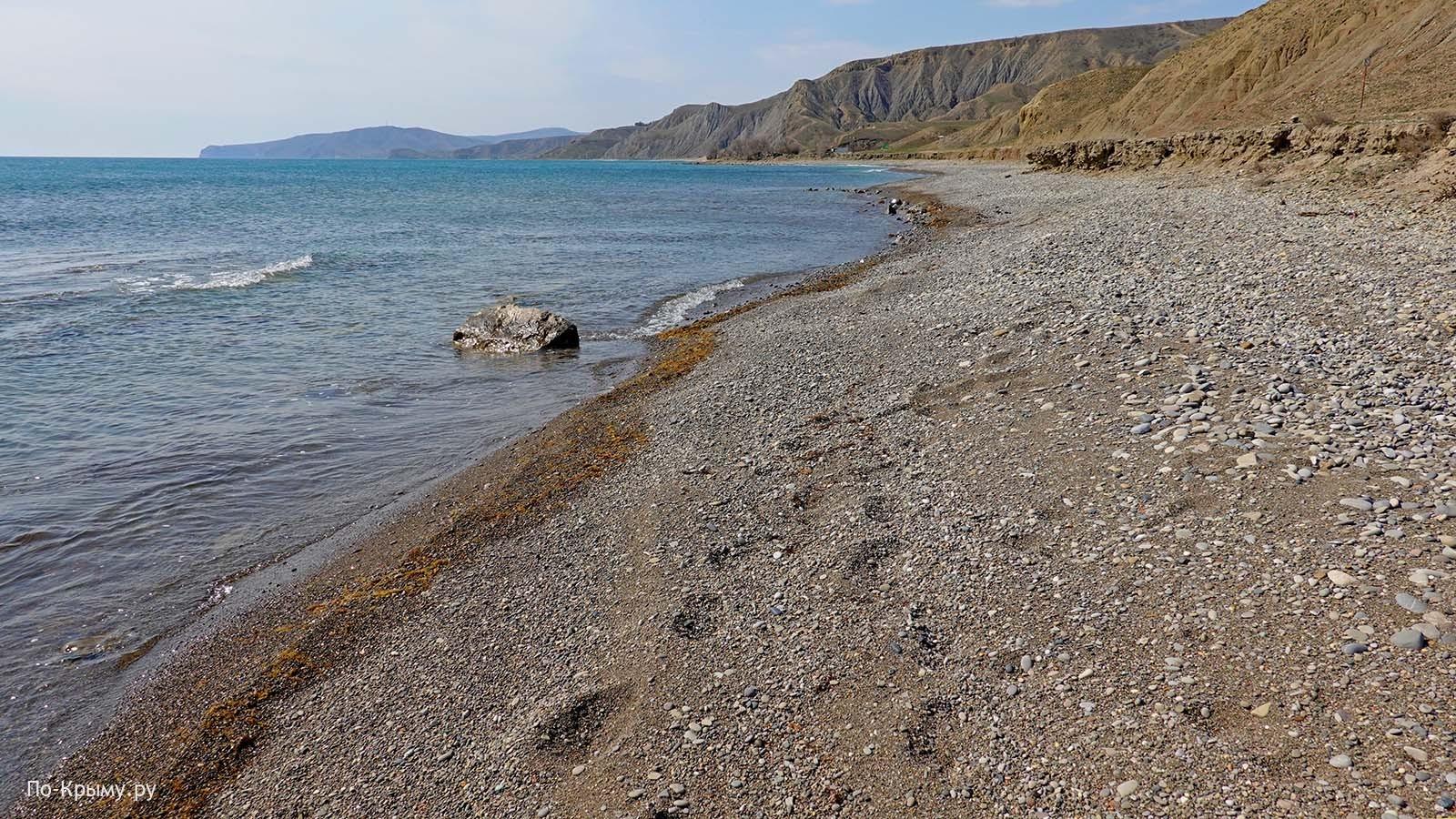Лисья бухта - нудистский пляж и заповедник Эчки-Даг