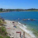 Пляж БТК в Севастополе в Карантинной бухте