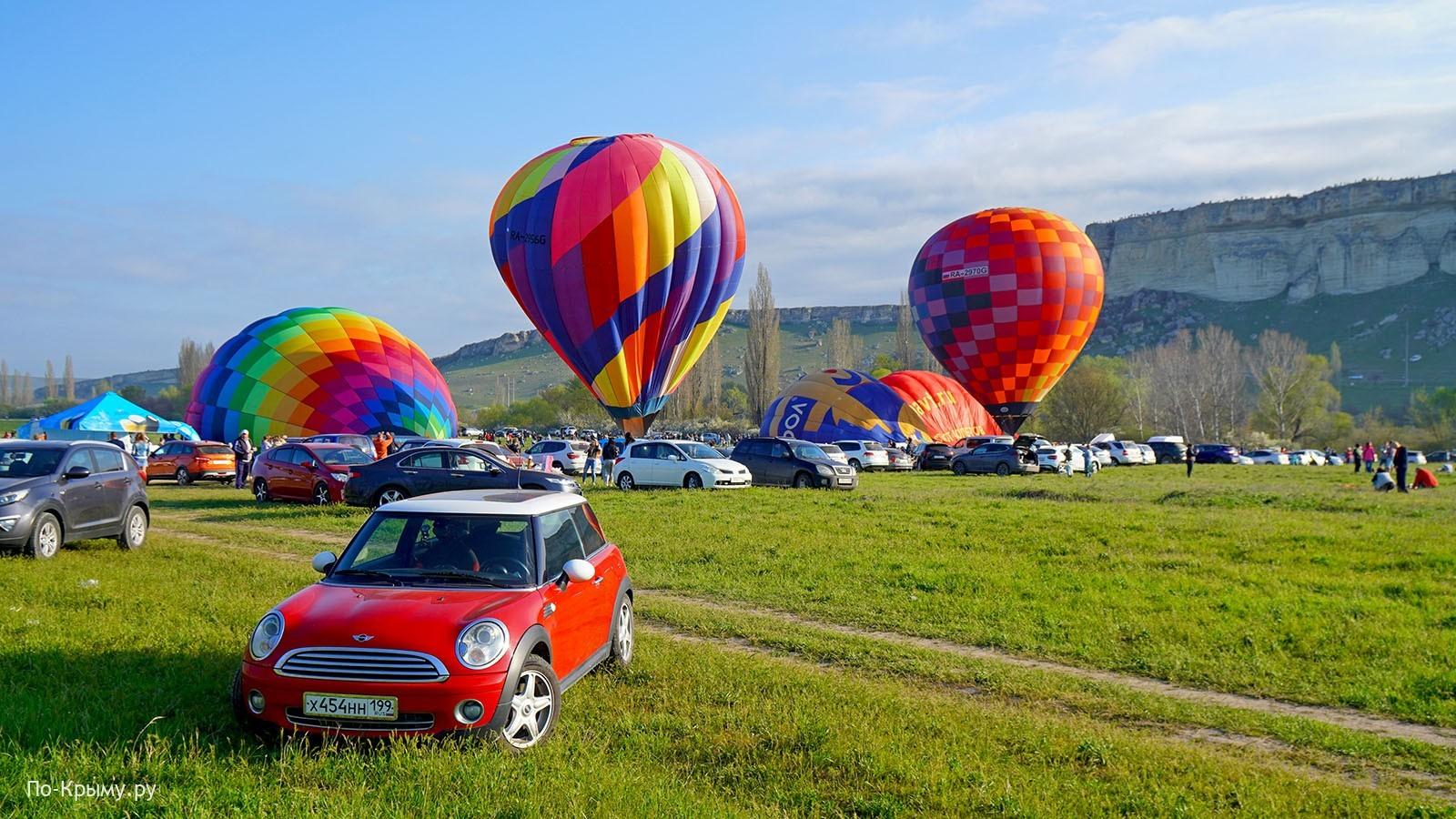 Полеты на воздушных шарах в Крыму