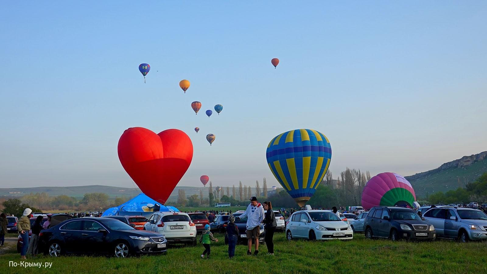Слет воздухоплавателей в Крыму - фестиваль воздушных шаров