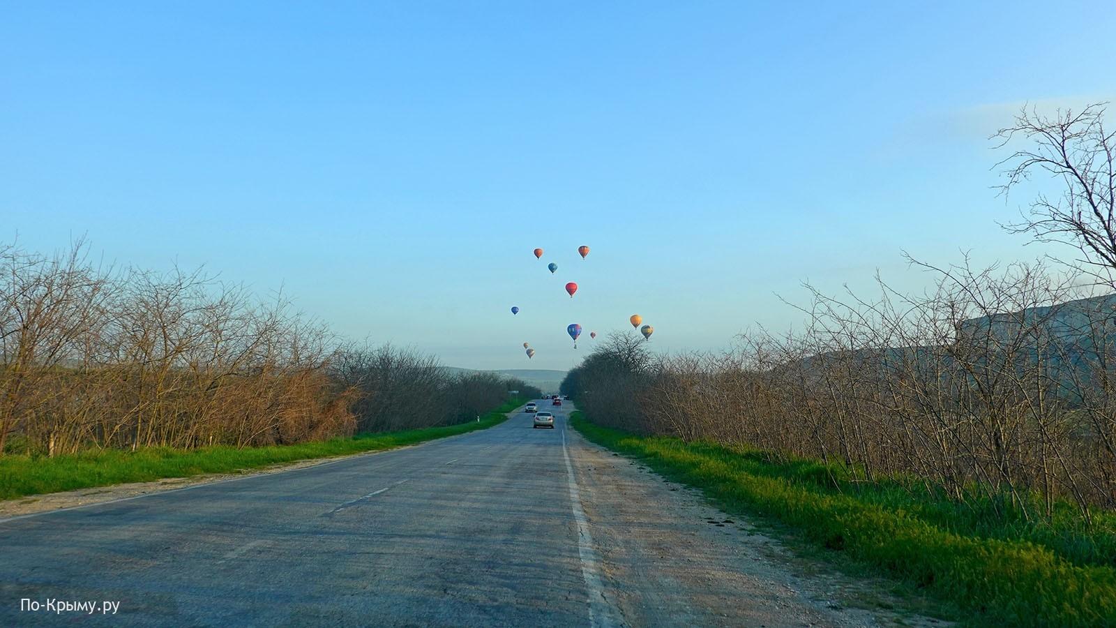 Слет воздухоплавателей на Белой скале, Крым