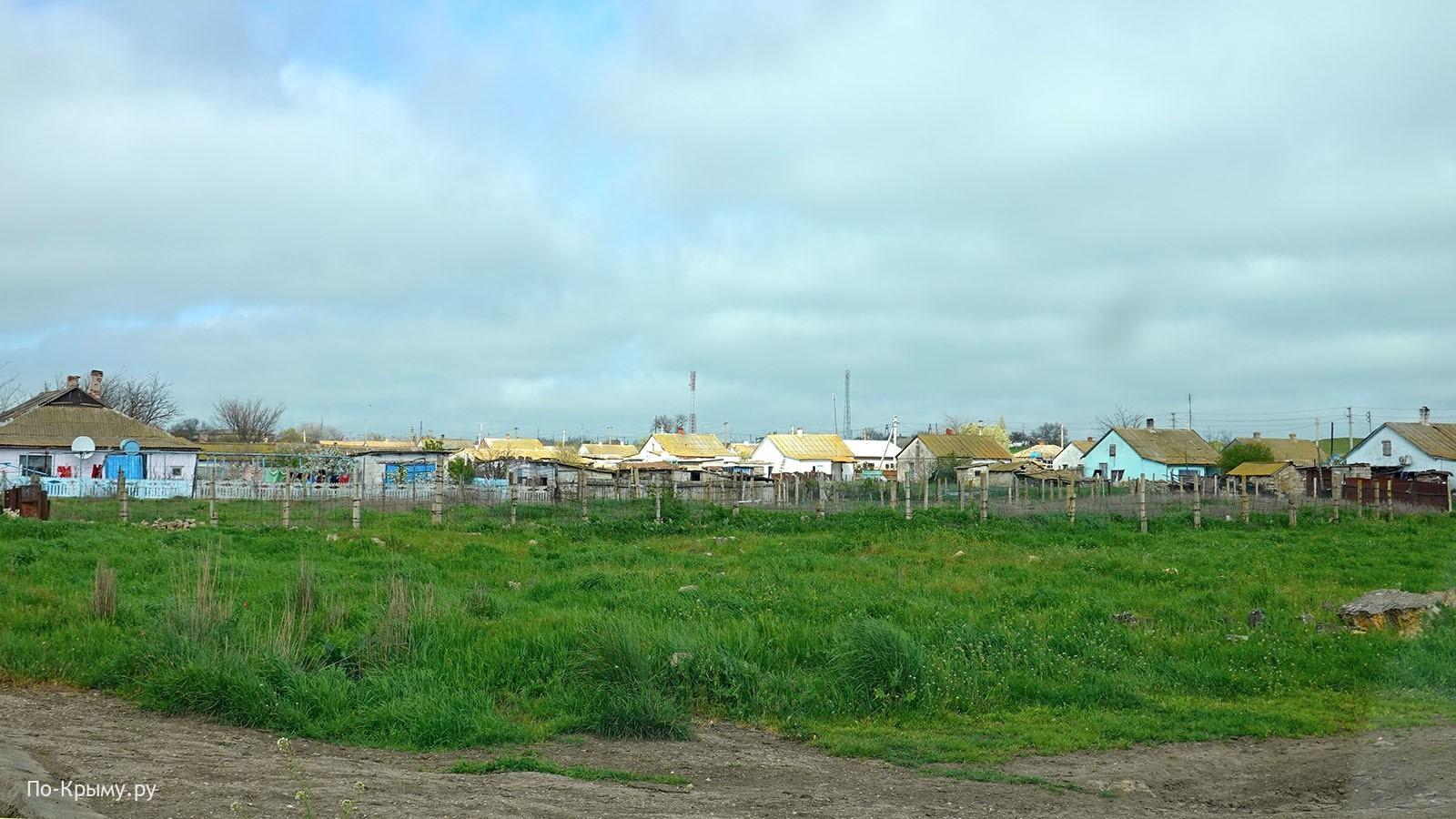 Поселки Керченского полуострова