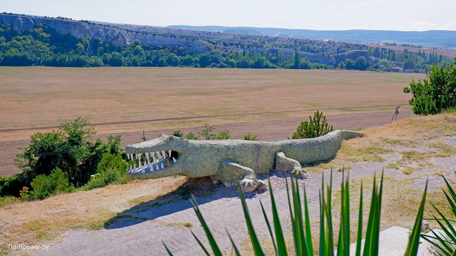 Смотровая площадка в Танковом, гора Крокодил
