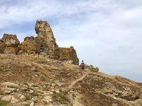 Скалы мыса Зюк в Крыму
