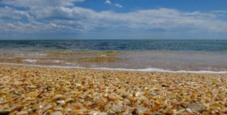 Пляж в Береговом у Феодосии