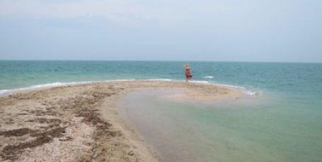Пляжи Бакальской косы