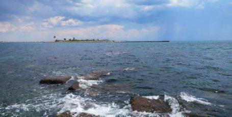 Пляжи у озера Донузлав