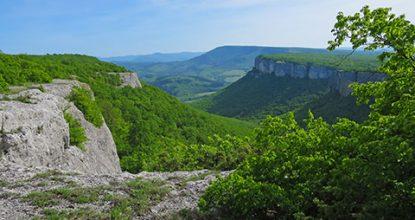 Пещерный город Кыз-Кермен под Бахчисараем