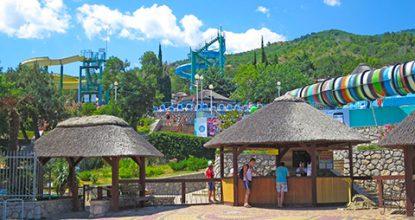 Аквапарк «Голубой залив» в Симеизе