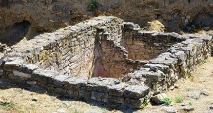 Античное городище Тиритака в Керчи