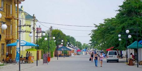 Курорт Межводное на Западе Крыма