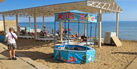 Пляж «Горький-Детский»