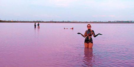 Грязевое Сакское озеро в Крыму