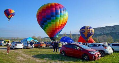 Необычный Первомай в Крыму, часть I — фестиваль воздушных шаров