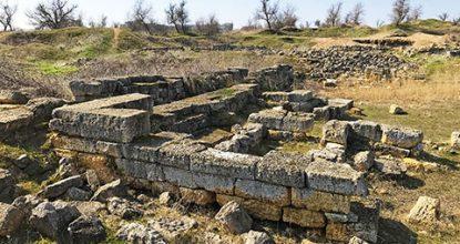 Античное городище «Чайка» в Евпатории