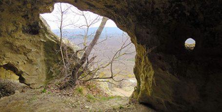 Пещерный город в урочище Бакла