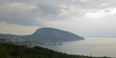 Чудо Крыма Аю-Даг — Медведь-гора