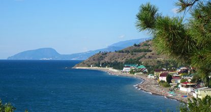 Пляжи Солнечногорского в Крыму