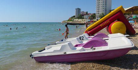 Пляж Орловки под Севастополем — Звездный берег